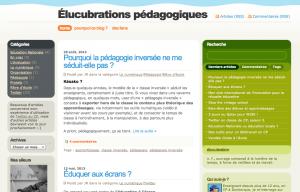 Élucubrations pédagogiques