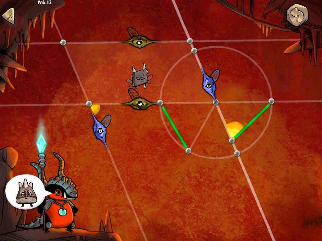 On active le pouvoir du parallélogramme pour ajouter des symboles indiquant des droites parallèles (mouches à une aile en bleu et en marron)