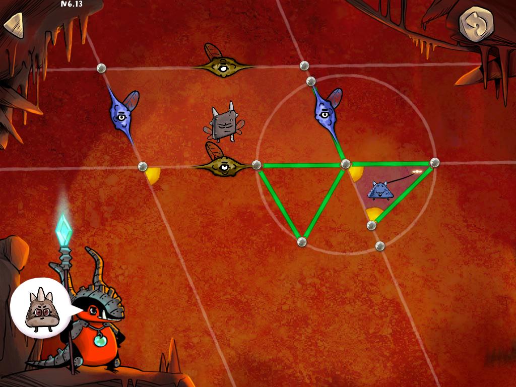 En activant le cercle, on fait tourner le rayon vert pour qu'il colorie en vert tous les autres rayons.